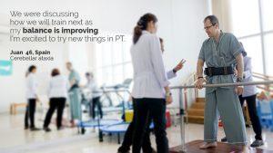 Ataxia Patient Progress