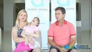 Cerebral Palsy Patient Sandy from Brazil