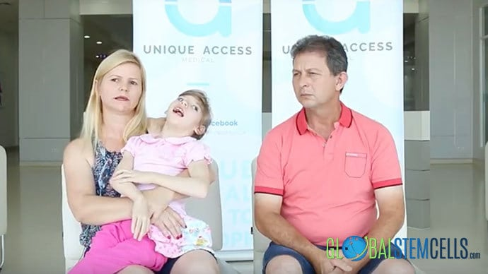 Cerebral Palsy Patient Sandy from Brazil