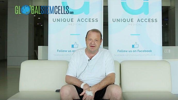 ALS, Kevin, 50, USA     Global Stem Cells