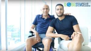 ALS Stem Cell Treatment Testimonial. Francesco from Italy